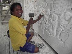 escultor de pedras