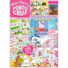Revista Marileny Ponto Cruz 18 / Magazine Marileny Cross Stitch 18 visit www.marileny.net
