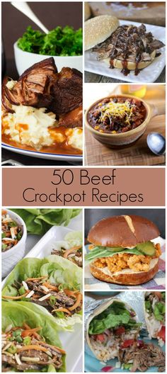 50 Beef Slow Cooker Recipes