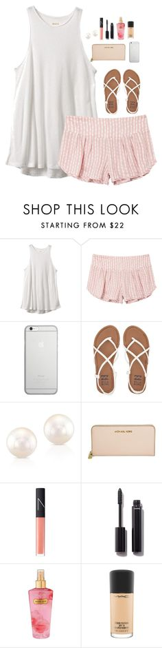 """""""Do not judge. You don't know what storm I've asked her to walk through. -God"""" by oh-so-rachel ❤ liked on Polyvore featuring RVCA, Native Union, Billabong, Michael Kors, NARS Cosmetics, Chanel, Victoria's Secret and MAC Cosmetics"""