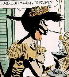 afroboheme: ma bande déssinée: Bouche Dorée et ses élèves (Série Corto Maltese)
