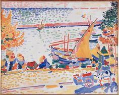 Port of Collioure (The White Horse) 1905 Andre Derain