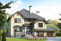 Коттедж-Колорит - Проекты домов - Проект H-307-1P