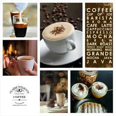 Coffee Lovin' #Moodboard #Mosaic #Collage