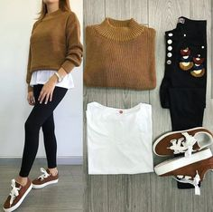 Basic Outfits, Mom Outfits, Outfits For Teens, Winter Outfits, Casual Outfits, Cute Outfits, Look Fashion, Fashion Outfits, Fancy Blouse Designs