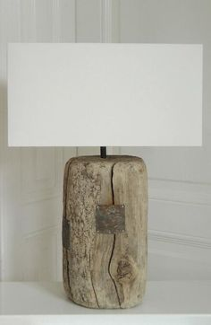 Image result for floor lamp driftwood
