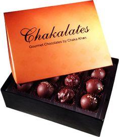 Chaka Khan Chakalates | Gourmet Chocolates by Chaka Khan
