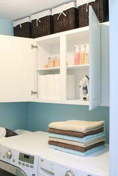 Organize sem Frescuras | Rafaela Oliveira » Arquivos » Organize a lavanderia e ganhe mais espaços
