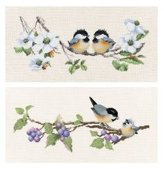 Blossom Buddies & Berry Time - Valerie Pfeiffer cross stitch set