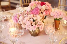 Photography: Melody Melikian Photography - www.melodymelikianphotoblog.com  Read More: http://www.stylemepretty.com/living/2014/03/31/sparkly-pink-baby-shower/
