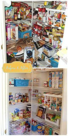 8 Weeks to Home Organization Bliss: Week 1 - Kitchen & Pantry - KUZAK'S CLOSET