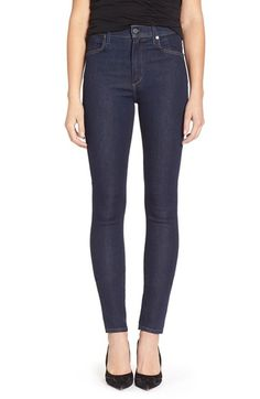 Citizens of Humanity 'Carlie' High Rise Skinny Jeans (Clean Blue) available at #Nordstrom
