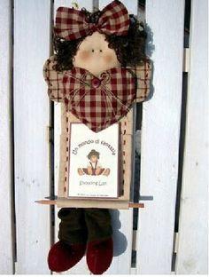 boneca-porta-recado/RETIRADO DA NET | Flickr: Intercambio de fotos
