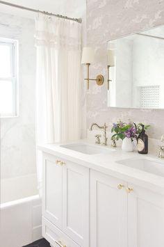 small master bathroom remodel full reveal, vintage inspired white bathroom, light and airy, bathroom remodel budget breakdown, bathroom interior design