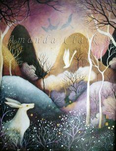 A Tale to Tell  -  Amanda Clark- art gallery, original paintings