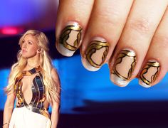 Ellie Goulding's dress nailed it.