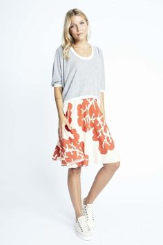 CORAL VIRGINIA SKIRT from Karen Zambos