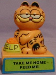 Garfield Feed Me Toy