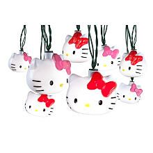 """String of 8 Blinking Christmas Lights - Hello Kitty - Gemmy Industries Inc - Toys """"R"""" Us"""