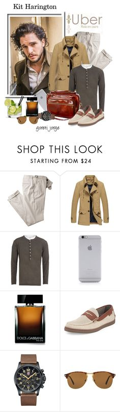 """Kit Harington&Ubermodaemcouro🙄"" by goreti ❤ liked on Polyvore featuring Dsquared2, Native Union, Dolce&Gabbana, Cole Haan, Luminox, Persol, men's fashion and menswear"
