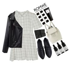 #Romwe by credentovideos on Polyvore featuring polyvore fashion style Marc by Marc Jacobs Forever 21 Odacité Eight & Bob clothing