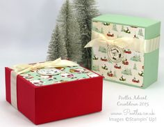 Pootles Advent Countdown 2015 #23 Huge Gift Box Tutorial