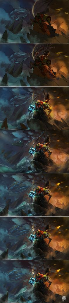 Tutorial of The Broken World by 6kart.deviantart.com on @DeviantArt