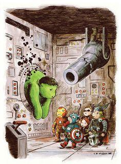 Avengers Winnie the Pooh