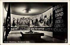 Ansichtskarte / Postkarte Berlin Charlottenburg, Ausstellung Deutschland 1936, Blut und Boden