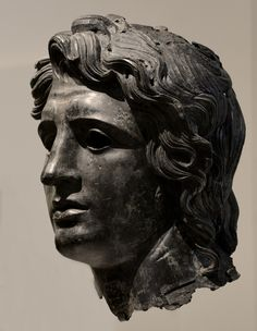 Head of Alexander the Great. Bronze. Greek or Roman. Late Hellenistic to Hadrianic, ca. 150 BCE — 138 CE. Private collection. Inv. No. L.2012.4.1. New York, the Metropolitan Museum of Art