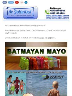Batmayan Mayo İle herkes denize girebilecek, Çocuk Genç Yaşlı Engelli için Havuz ve deniz için Batmayan Mayo ve Deniz Terliği