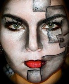 A Collection of the Best Face Art Makeup | Face Art, Portraits & Mug Shots