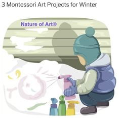 Now that we're smack in the middle of winter, I'm sure you're looking for a few exciting Montessori art projects to keep your students occupied on days they're stuck inside. Well, I say, embrace the s