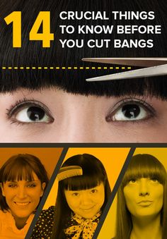 14 Crucial Things To Consider Before You Cut Bangs