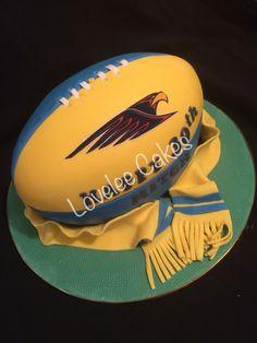 West coast Eagles football cake