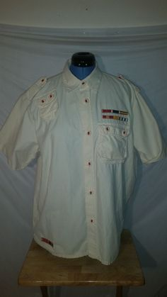 LRG Lifted Research Group Men/'s Short Sleeve Button Up Shirt Choose Color /& Size