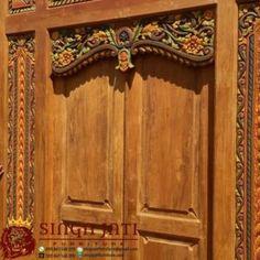 Model Pintu Gebyok Antik Minimalis Ukir Kayu Jati Javanese, Model, Furniture, Home Decor, Decoration Home, Room Decor, Scale Model, Home Furnishings