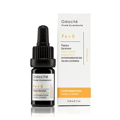 Odacit PaG Hyperpigmentation Serum Concentrate With Papaya Geranium 017 oz ** Visit the image link more details. (This is an affiliate link) Skin Serum, Facial Serum, Skin Toner, Skin Mask, Papaya Oil, Brown Spots On Face, Best Face Products, Beauty Products, Lemon Grass
