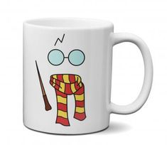 Cumpleaños Harry Potter, Tween Girl Gifts, Harry Potter Collection, Mug Printing, Personalized Coffee Mugs, Cool Mugs, Funny Art, Mug Designs, Flower Crafts