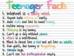 Facts For Teens I A 73
