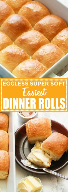 Easy Dinner Rolls Easy Dinner Rolls – soft, fluffy, tender – everything you want in a dinner roll is right here. Made in just an hour from start to finish. The fastest and tastiest dinner roll you'll ever have! Dinner Rolls Easy, Frozen Dinner Rolls, Fluffy Dinner Rolls, Easy Rolls, Dinner Rolls Recipe, Bread Machine Recipes, Easy Bread Recipes, Quick Recipes, Homemade Dinner Rolls