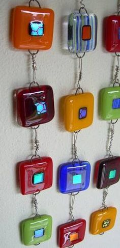 Good idea for Fused Glass project
