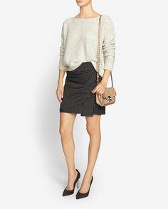 Thakoon Addition Striped Wrap Skirt | Shop IntermixOnline.com