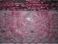 Big Flowers Stone African French Lace-3
