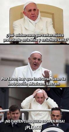 Coros protestantes en misas católicas