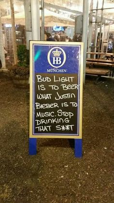 Bud Light is to beer as Justin Bieber is to music. Stop drinking that shit! I Like Beer, More Beer, All Beer, Best Beer, Bud Light, Beer Brewing, Home Brewing, Gin, Vodka