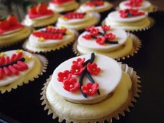 Chinese New Year Cupcakes for the Holiday
