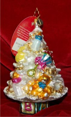 Baby's Newborn Tree Christmas Ornament