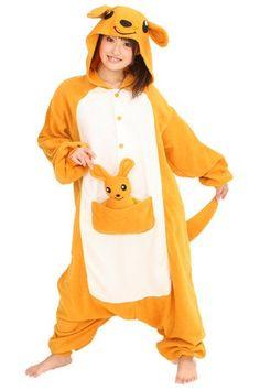 Kigurumi Canada - Kangaroo Kigurumi | Japanese Animal Costumes, Pyjamas, Onesies - StyleSays