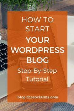 So, you decided you want to start your blogging journey – but it all looks complicated to you? This guide has you covered: A Step-by-step tutorial on starting your blog with wordpress. Blogging tips, start a blog, blogging for beginners